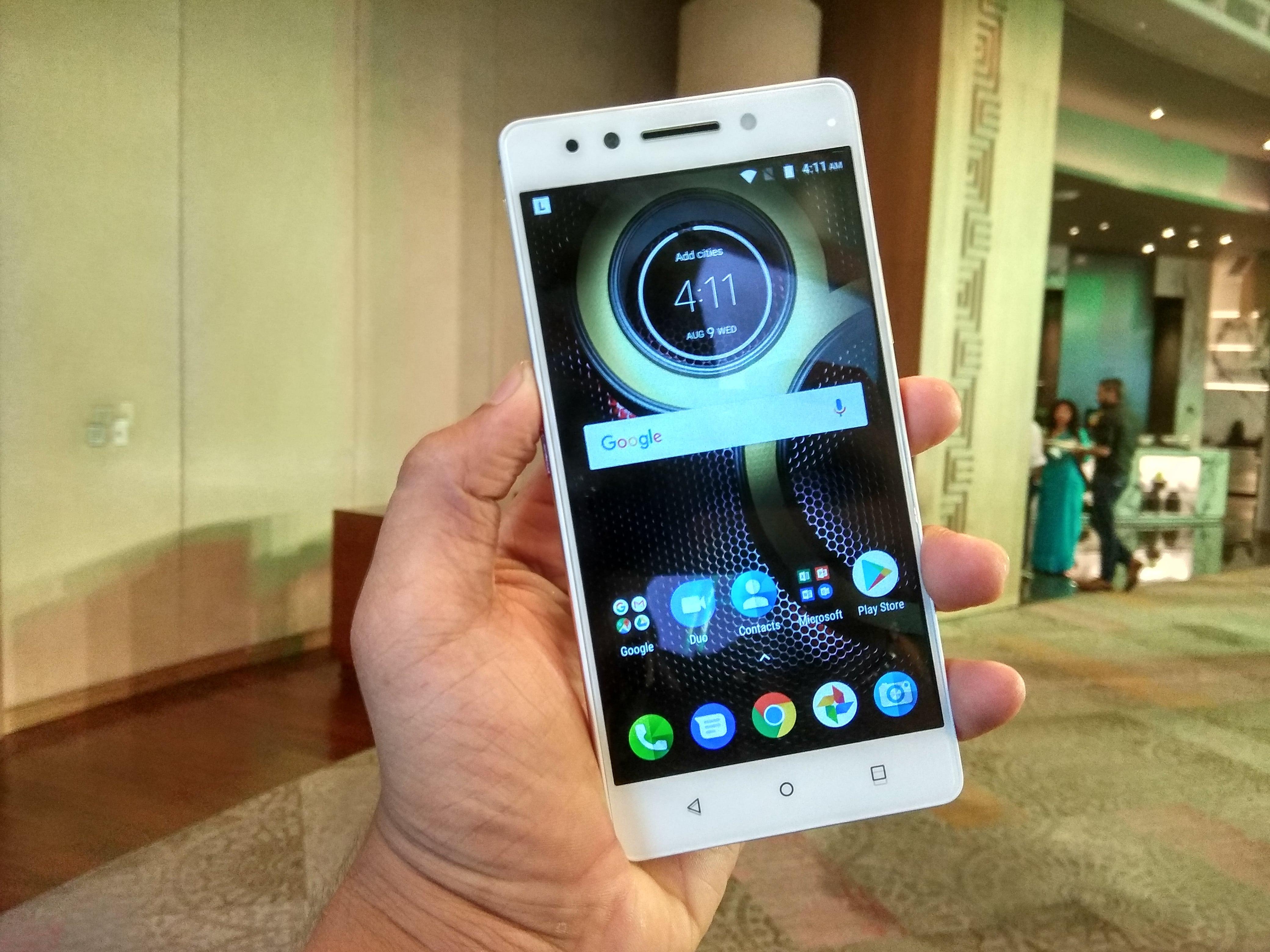 Lenovo K8 Note Launched with Killer Specification Starting
